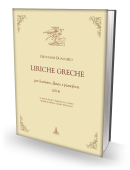LIRICHE GRECHE per baritono, flauto e pianoforte