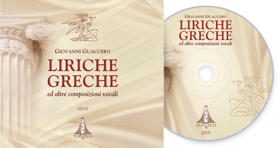 Cd Liriche Greche front