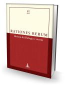 RATIONES RERUM 12 - Rivista di filologia e storia