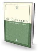 RATIONES RERUM 13 - Rivista di filologia e storia