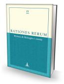 RATIONES RERUM 15 - Rivista di filologia e storia